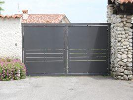 cancello in ferro argiolas